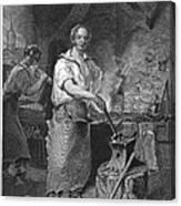 Neagle: Blacksmith, 1829 Canvas Print