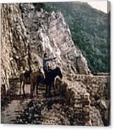 Near The Bagatski Bridge - Caucasus - Russia Canvas Print