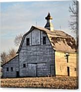 Nebraska Barn In Otoe County Canvas Print