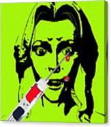 Needle Phobia Canvas Print