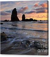 Needles Sunset Canvas Print