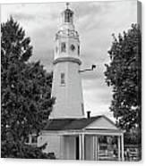 Neenah Lighthouse  8390 Canvas Print