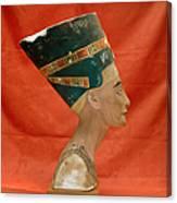 Nefertiti, Ancient Egyptian Queen Canvas Print