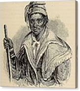 Negro Abraham Was An African Seminole Canvas Print