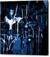 Blue Drums Canvas Print