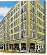 Neiman Marcus Department Store In Dallas Tx In The 1950's Canvas Print