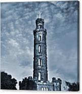 Nelson Monument Canvas Print