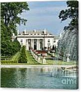 Nemours Mansion And Gardens Canvas Print