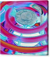 Neon Burner Canvas Print