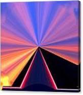 Neon Pinnacle Canvas Print