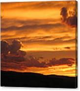 Neon Sky Canvas Print