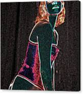 Neon Temptress Canvas Print