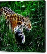 Neon Tiger Canvas Print