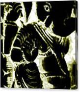 Neonganpati Canvas Print
