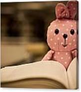 Nerd Rabbit Canvas Print