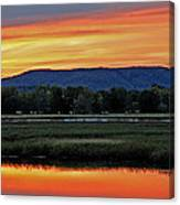 Nerepis Marsh At Dusk IIi Canvas Print