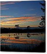 Nerepis Marsh Sunset Canvas Print
