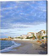 Nerja Beach On Costa Del Sol Canvas Print
