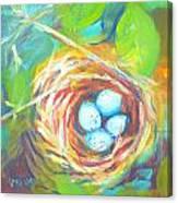 Nest Of Prosperity 1 Canvas Print