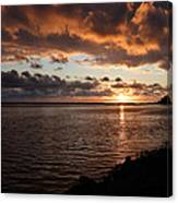Netart's Bay Sunset 1 Canvas Print