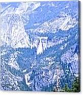 Nevada And Vernal Falls Canvas Print