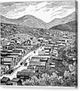 Nevada: Austin, C1880 Canvas Print