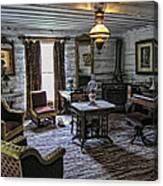 Nevada City Hotel Parlor - Montana Canvas Print