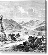 Nevada: Washoe Region, 1862 Canvas Print