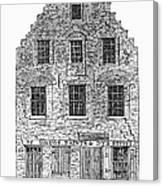 New Amsterdam: House, 1626 Canvas Print