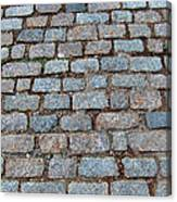 New Bedford Mass Brick Street 2006 Canvas Print