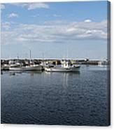 New Brunswick Harbour Canvas Print