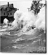New England Hurricane, 1938 Canvas Print