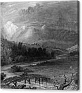 New Hampshire, 1838 Canvas Print