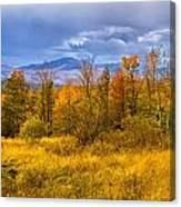 New Hampshire Fall Color Part Deux Canvas Print