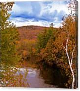 New Hampshire Fall Color Part Three Canvas Print