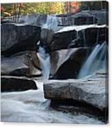 New Hampshire Waterfall 1 Canvas Print