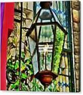 New Hope Gas Street Light Digital Painting Canvas Print