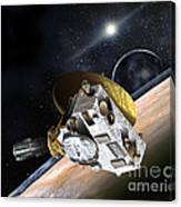 New Horizons Spacecraft At Pluto Canvas Print