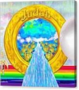 New Jerusalem Closeup - City Of God's Kingdom On Earth Canvas Print