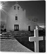 New Mexico Church Canvas Print
