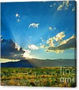 New Mexico Desert Canvas Print