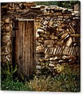 New Mexico Door II Canvas Print
