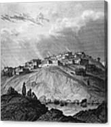 New Mexico: Laguna Pueblo Canvas Print