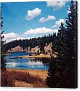 New Mexico Lake Canvas Print