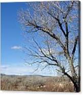 New Mexico Series - A View Espanola Canvas Print