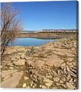 New Mexico Series - Abiquiu Lake IIi Canvas Print