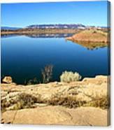 New Mexico Series - Abiquiu Lake Canvas Print