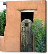 New Mexico Series - Santa Fe Doorway Canvas Print