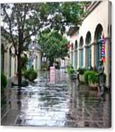 New Orleans After Rain Canvas Print