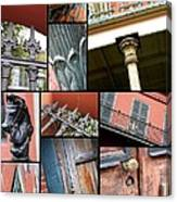 New Orleans Collage 1 Canvas Print